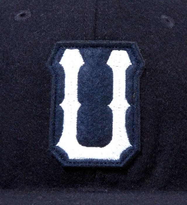 UNDEFEATED Navy Raised U Ebbets Ballcap