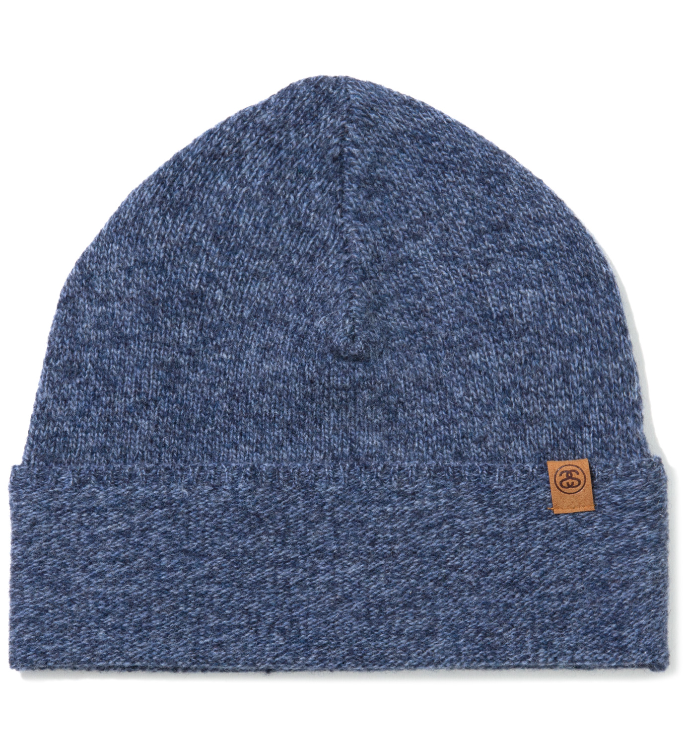 Stussy Navy Summit Cuff Beanie