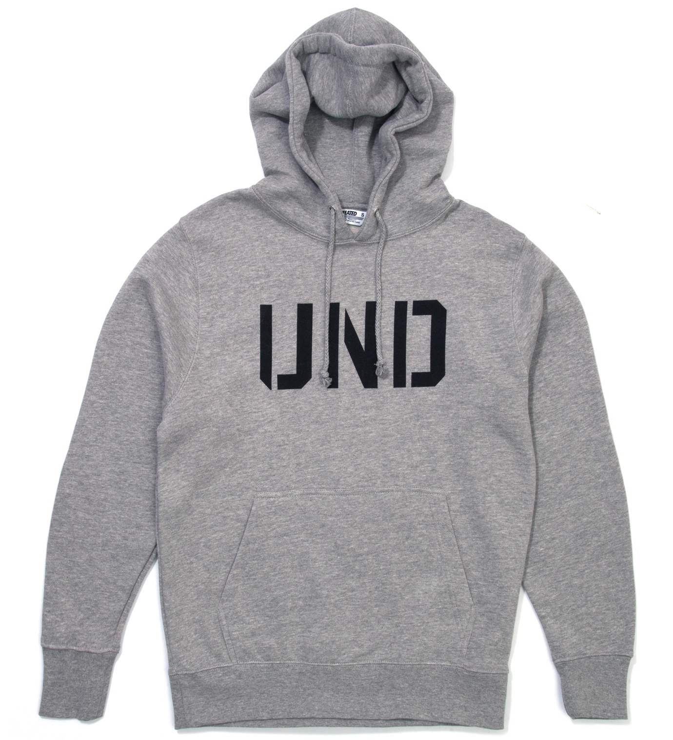 UNDEFEATED Heather Grey UND Hoodie