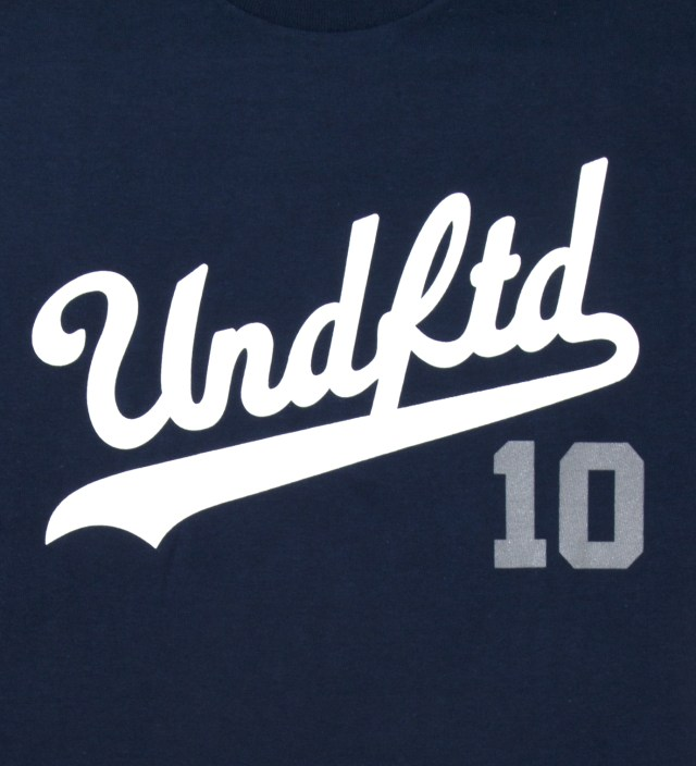 UNDEFEATED Navy SS UNDFTD 10 T-Shirt