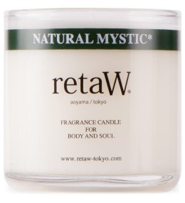 retaW Natural Mystic Candle Picture