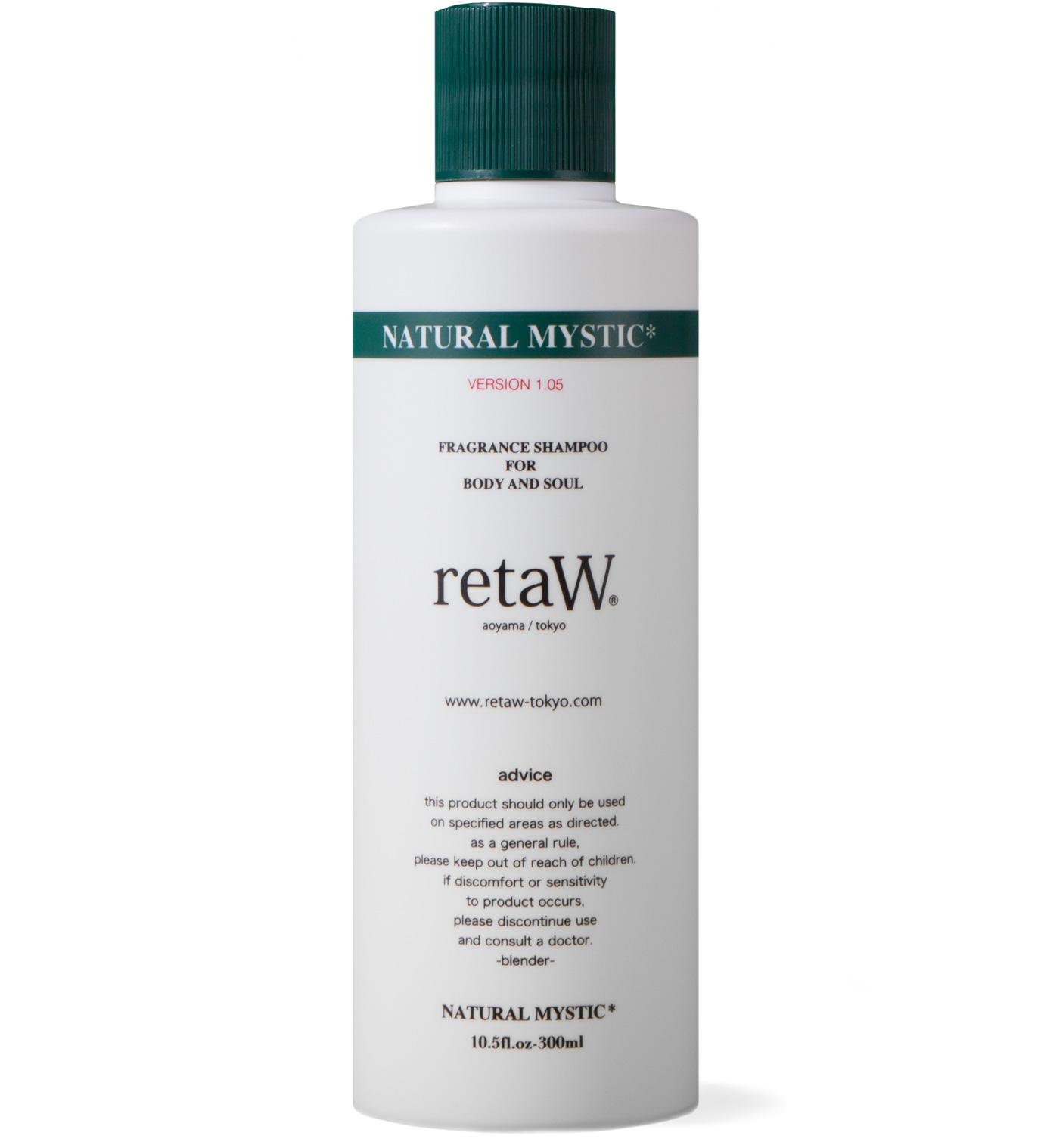 retaW Natural Mystic Fragrance Body Shampoo