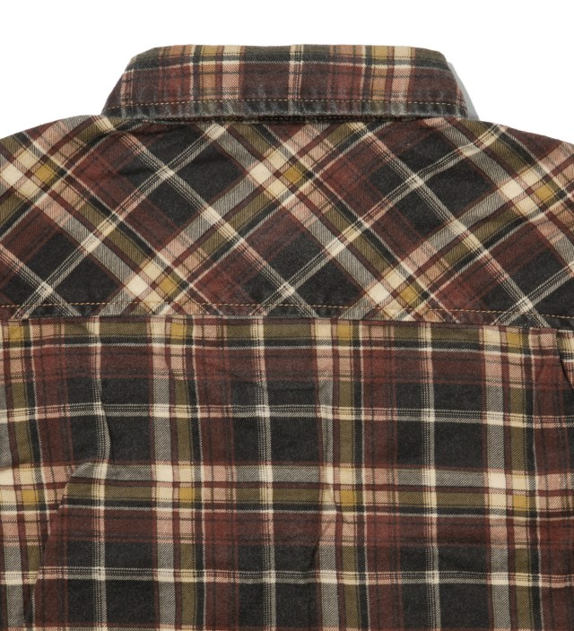 Stussy Yellow Richardson Plaid Shirt