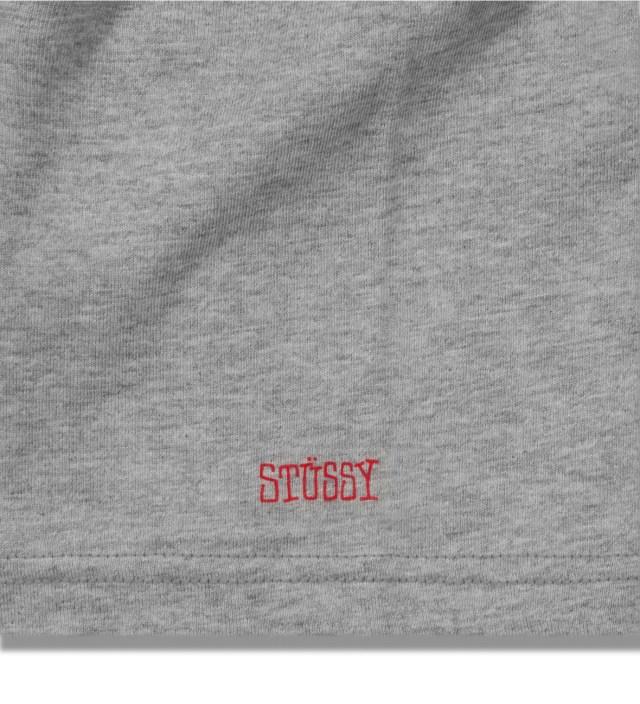 BEDWIN & THE HEARTBREAKERS Stussy x The Heartbreakers Grey Alex Print T-Shirt