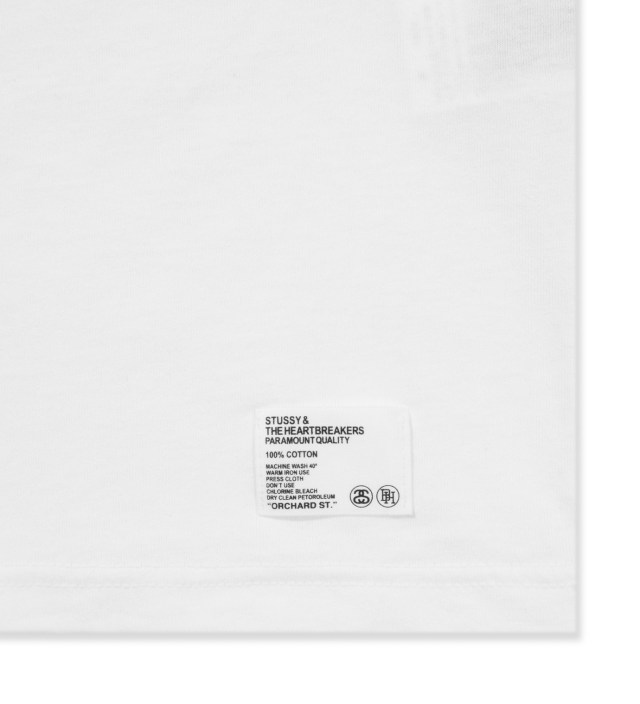 BEDWIN & THE HEARTBREAKERS Stussy x The Heartbreakers White Alex Print T-Shirt