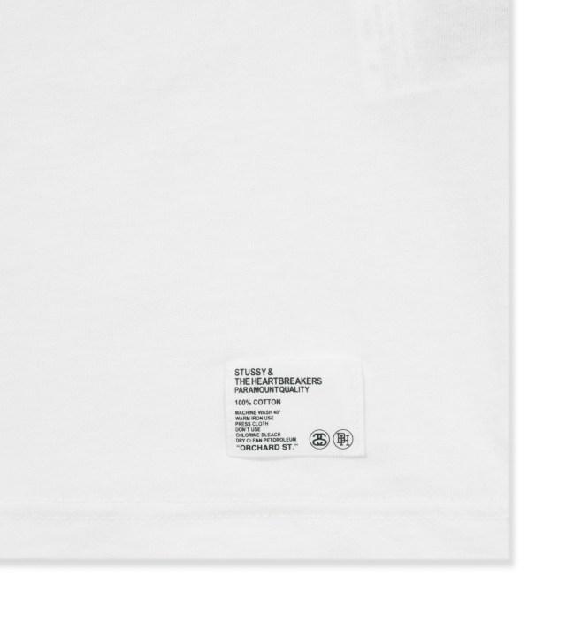 BEDWIN & THE HEARTBREAKERS Stussy x The Heartbreakers White Marcelo Print T-Shirt