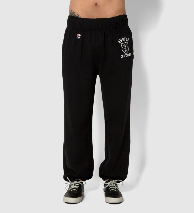 UNDEFEATED Black Can't Loose Sweatpants