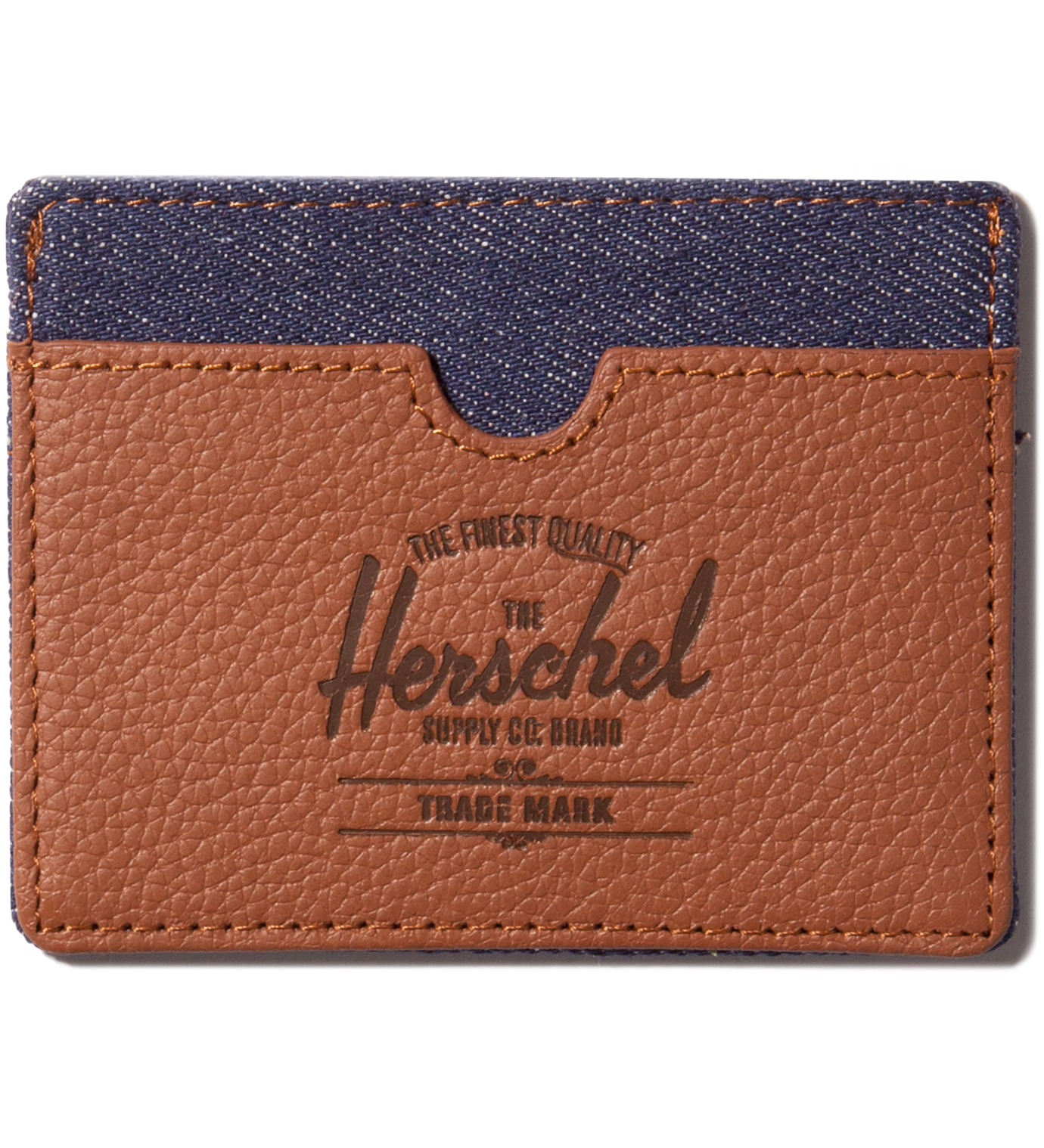 Herschel Supply Co. Dark Denim Charlie Card Holder
