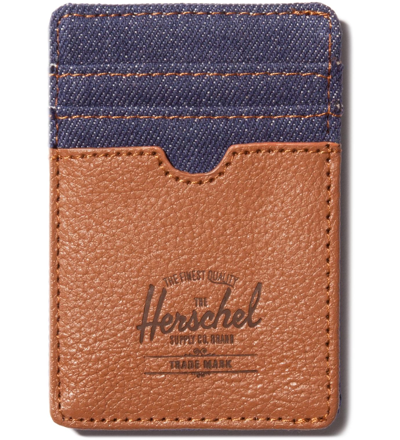 Herschel Supply Co. Dark Denim Raven Card Holder
