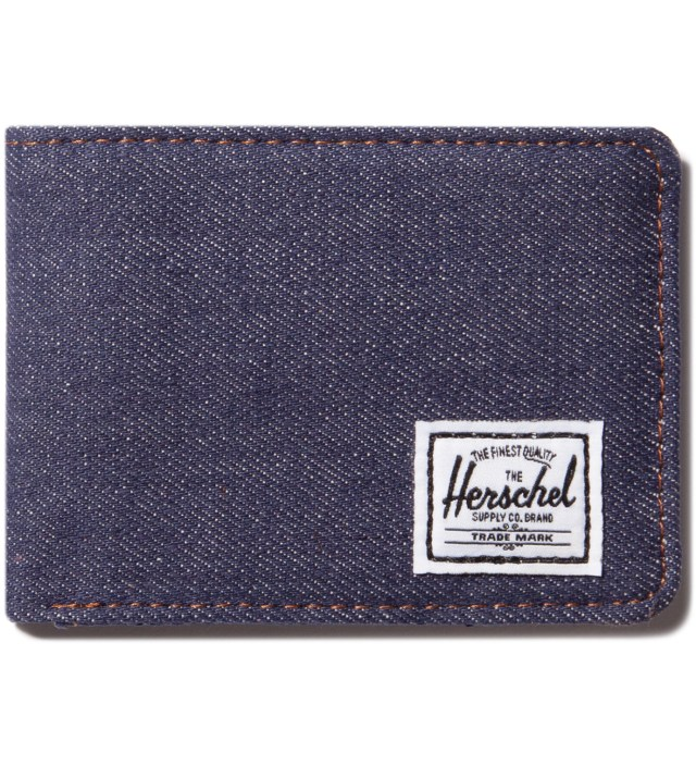 Herschel Supply Co. Dark Denim Hank Wallet