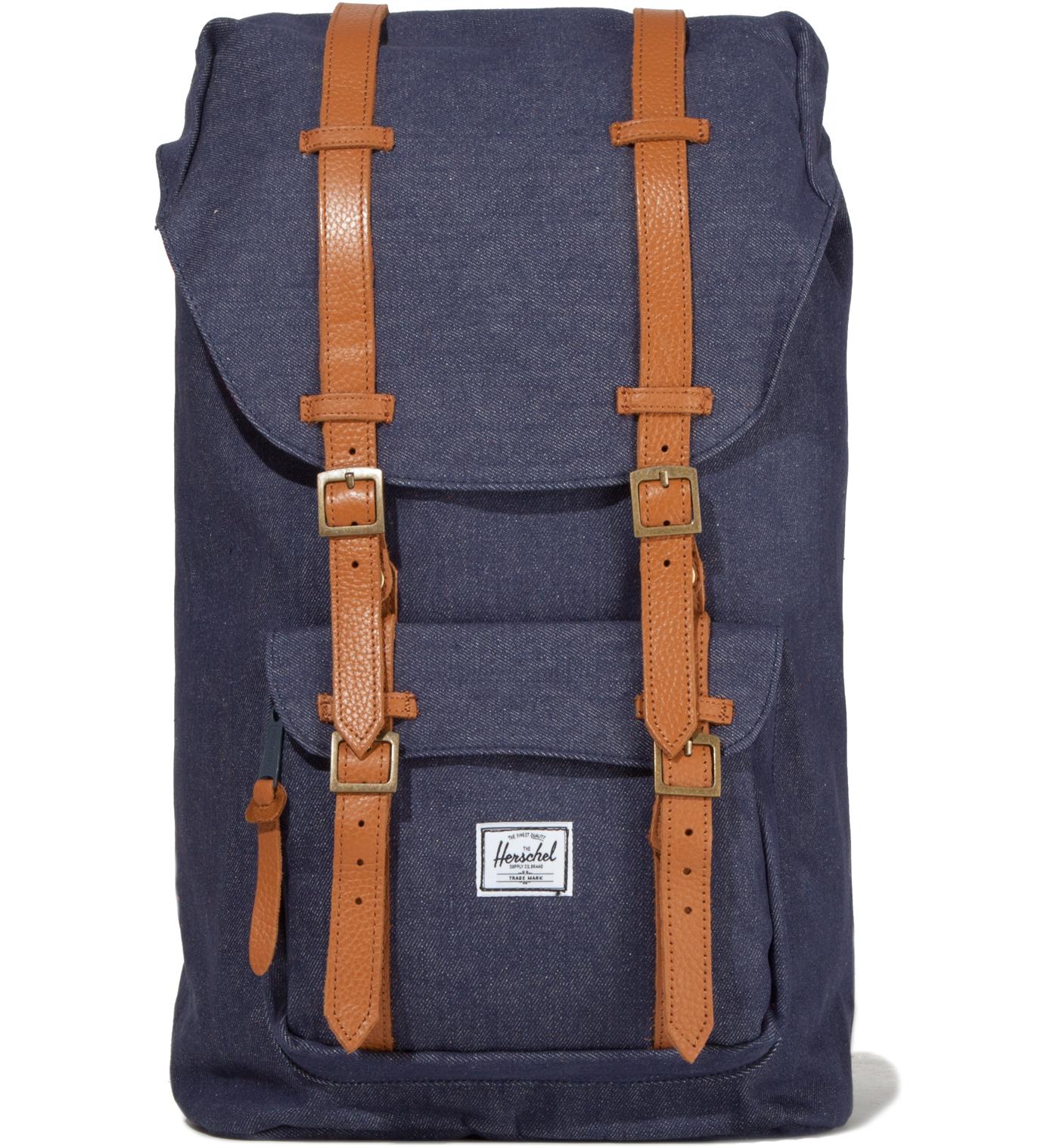 Herschel Supply Co. Dark Denim Little America Canvas Backpack