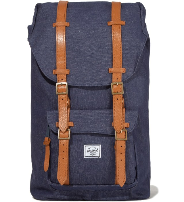 Herschel Supply Co. Dark Denim Little America Canvas Backpack