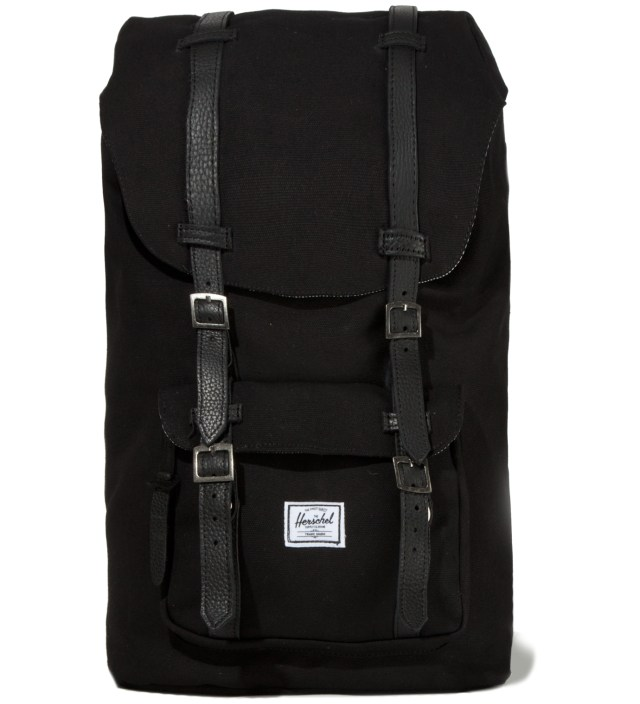 Herschel Supply Co. Black Little America Canvas Backpack