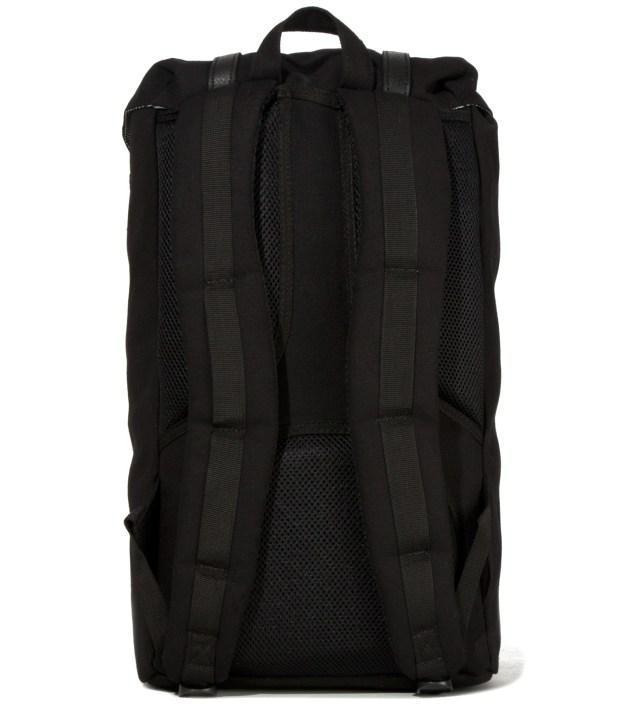 Herschel Supply Co. Black Little America Canvas Backpack