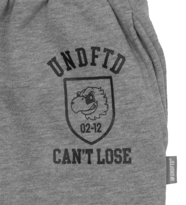 UNDEFEATED Heather Grey Can't Loose Sweatpants