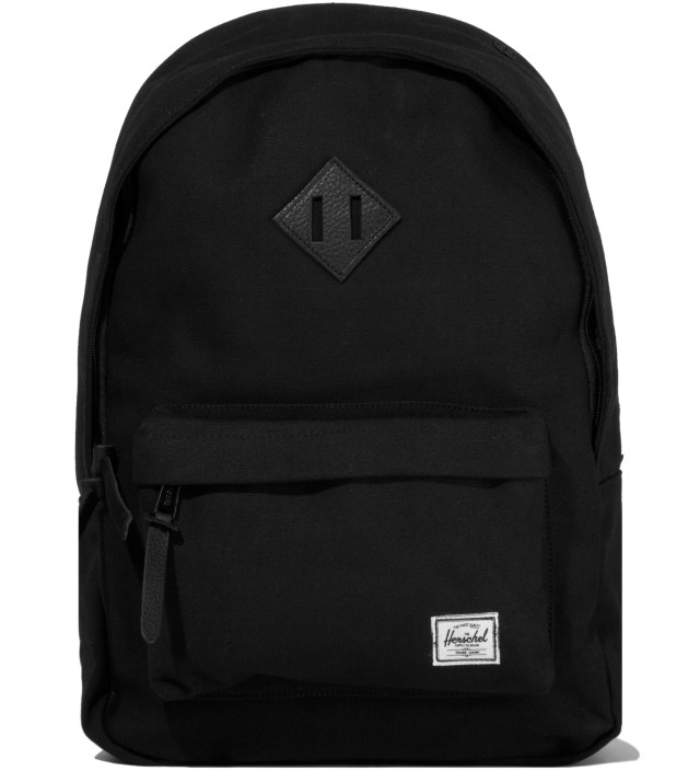 Herschel Supply Co. Black Woodlands Canvas Backpack