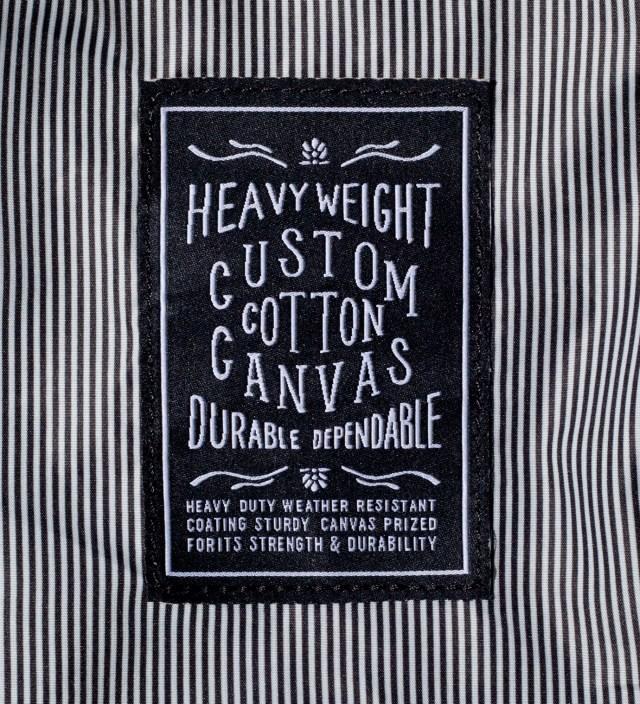 Herschel Supply Co. Black Woodlands Canvas Backpack