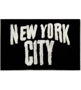 SECOND LAB Black New York City Rug Picture