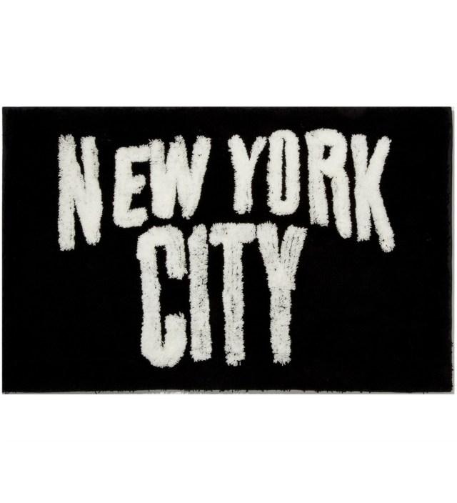 SECOND LAB Black New York City Rug