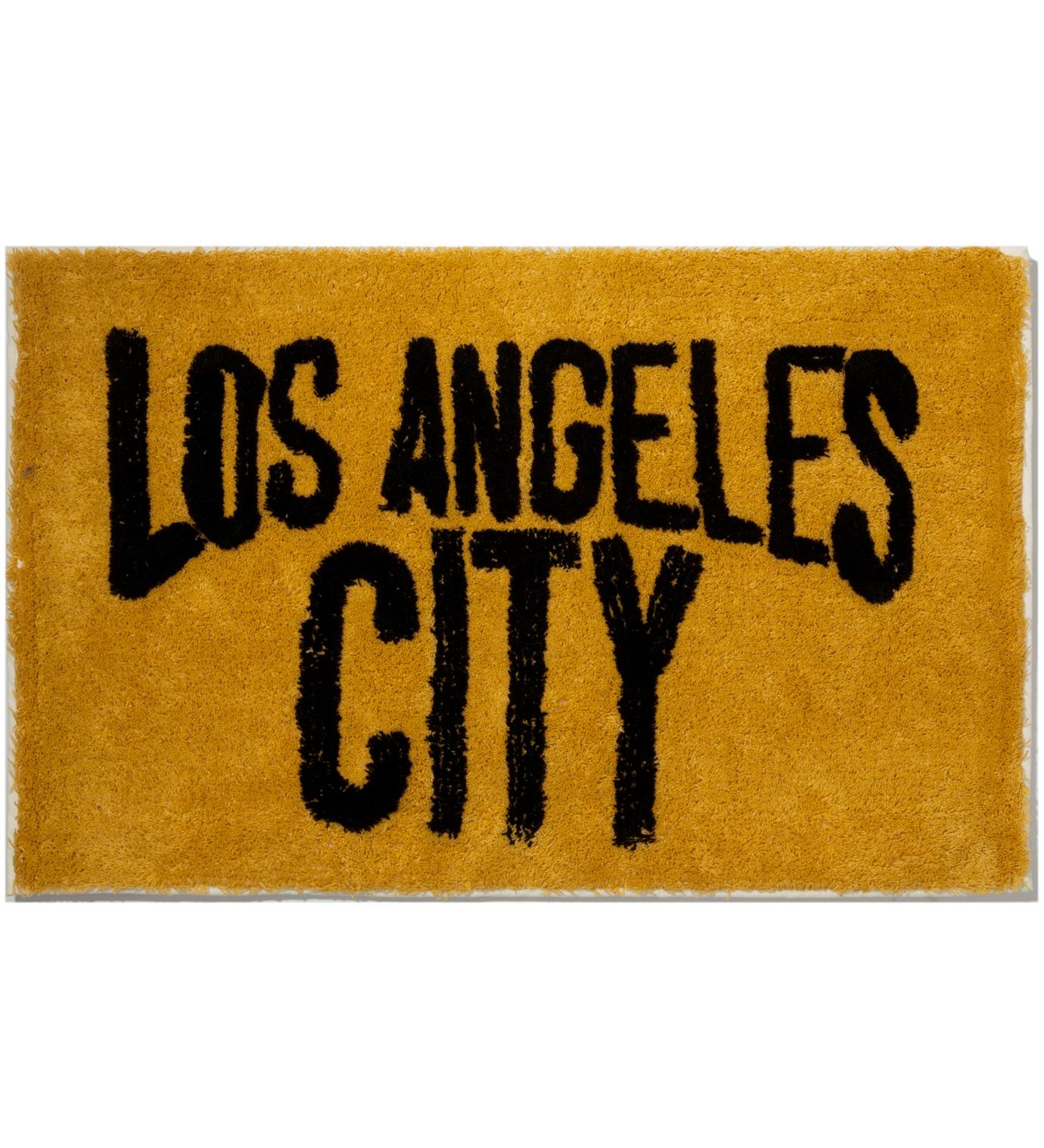 SECOND LAB Mustard Los Angeles City Rug
