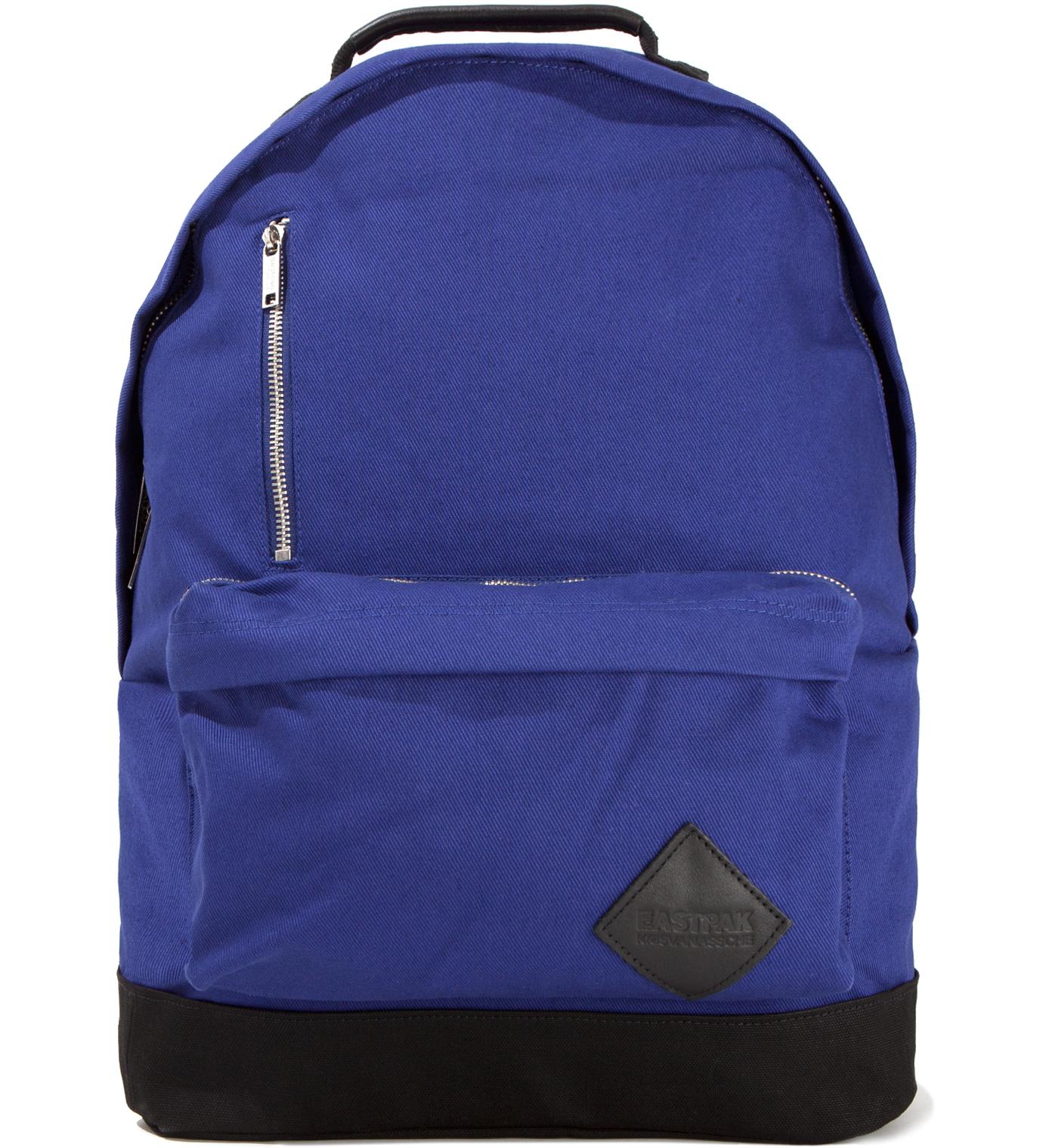 KRISVANASSCHE Eastpak KRISVANASSCHE Blue Cotton Backpack II