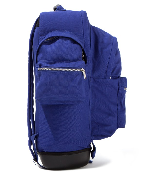 KRISVANASSCHE Eastpak KRISVANASSCHE Blue Cotton Backpack XXL