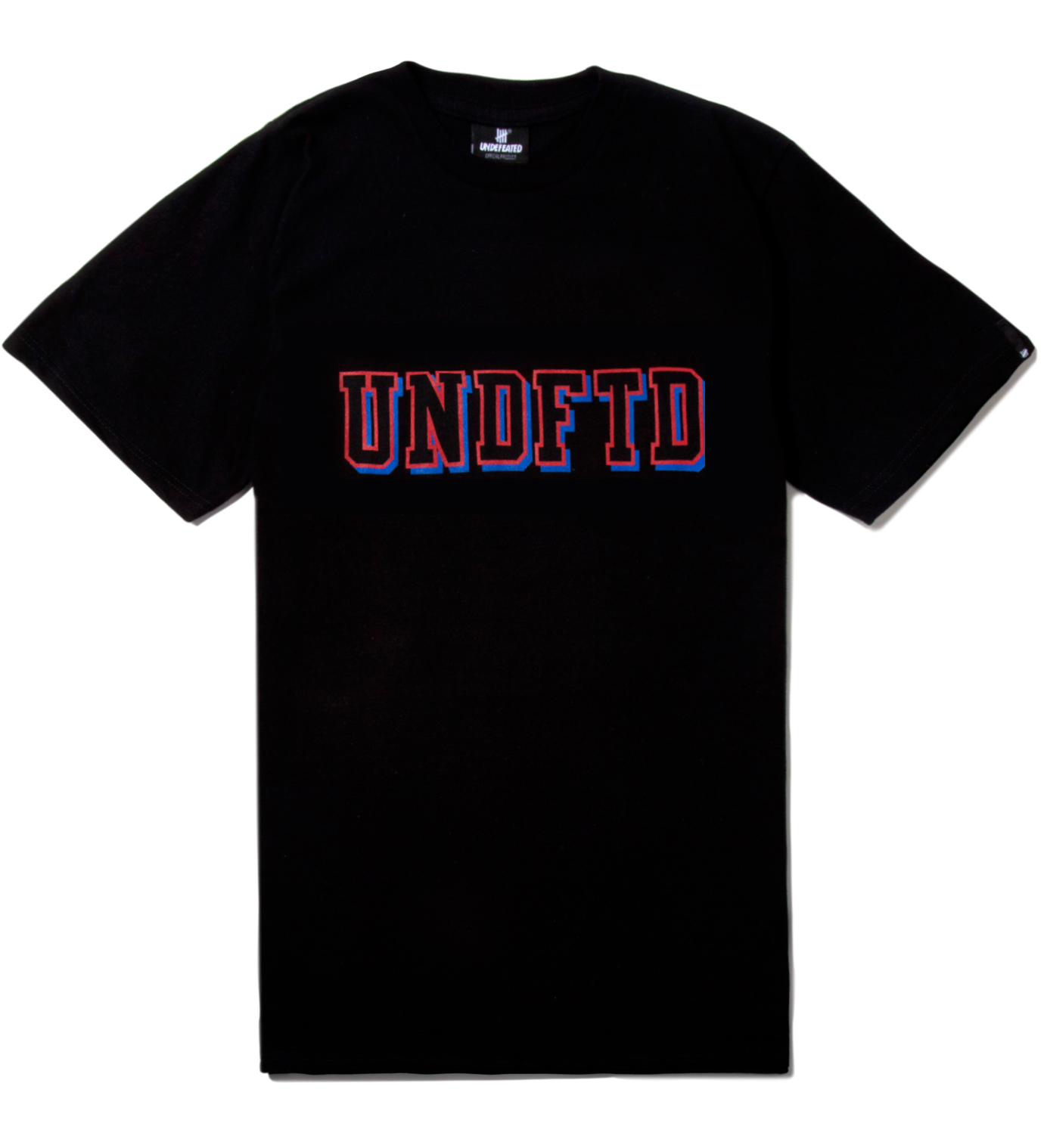 Undefeated Black SS UNDFTD Block T-Shirt