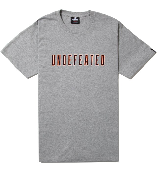 Undefeated Heather Grey SS 10 T-Shirt