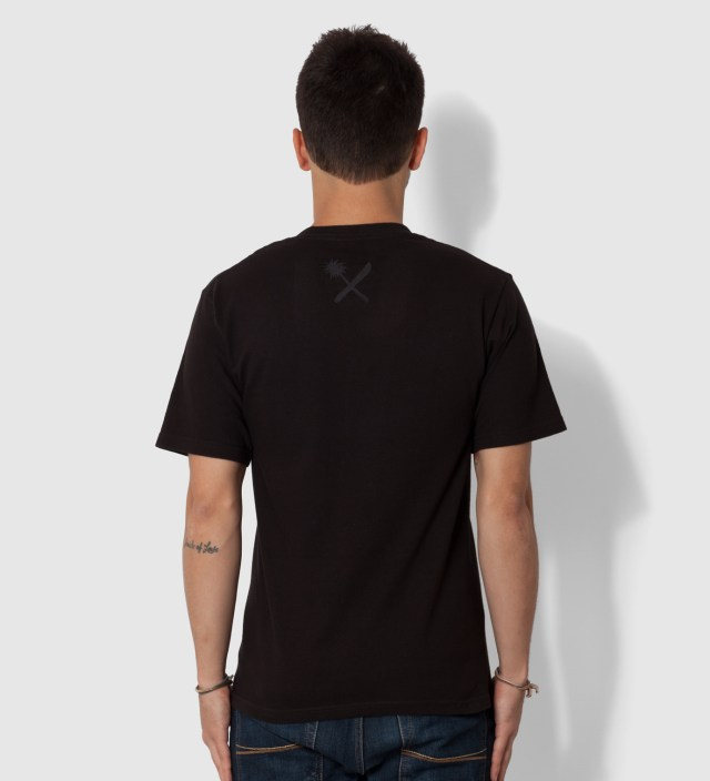 Us Versus Them Black Magnum Tonal T-Shirt