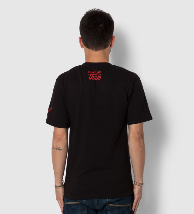 Us Versus Them Black Gangland Elephant T-Shirt