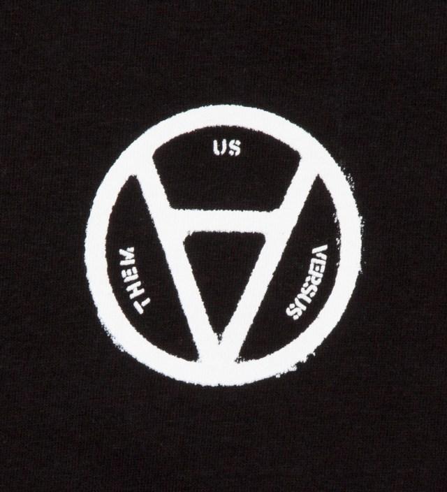 Us Versus Them Black V Anarchy T-Shirt