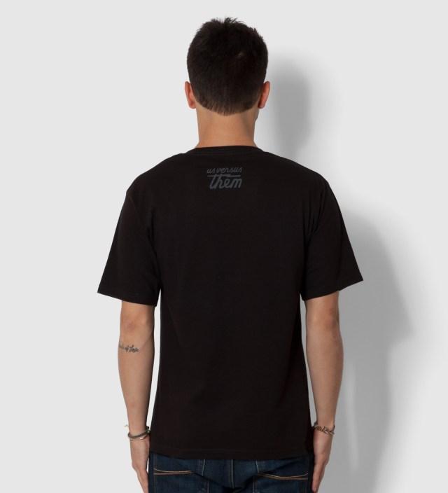 Us Versus Them Black Superior Seal T-Shirt