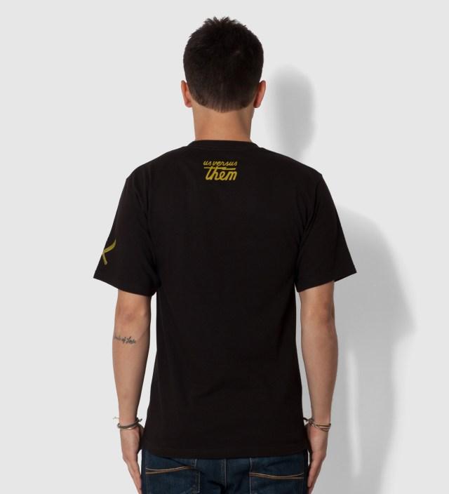 Us Versus Them Black Improvise Arrow T-Shirt