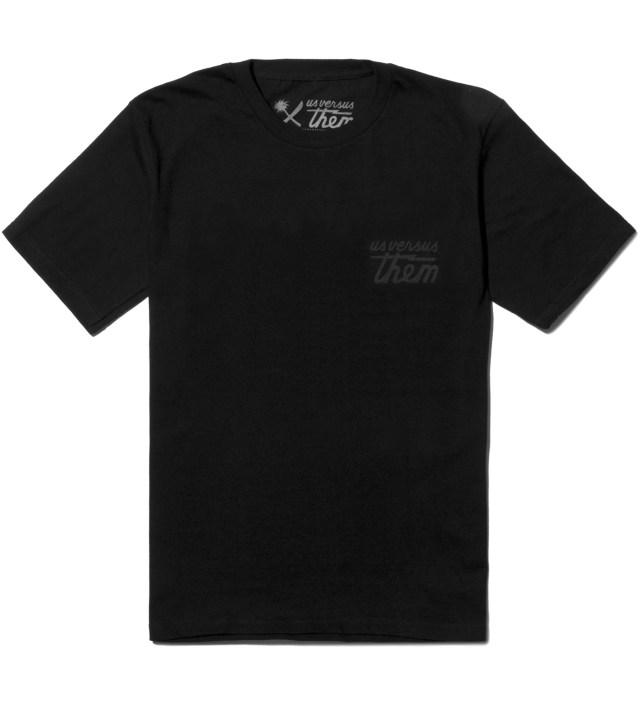 Us Versus Them Black Awake and Aware T-Shirt
