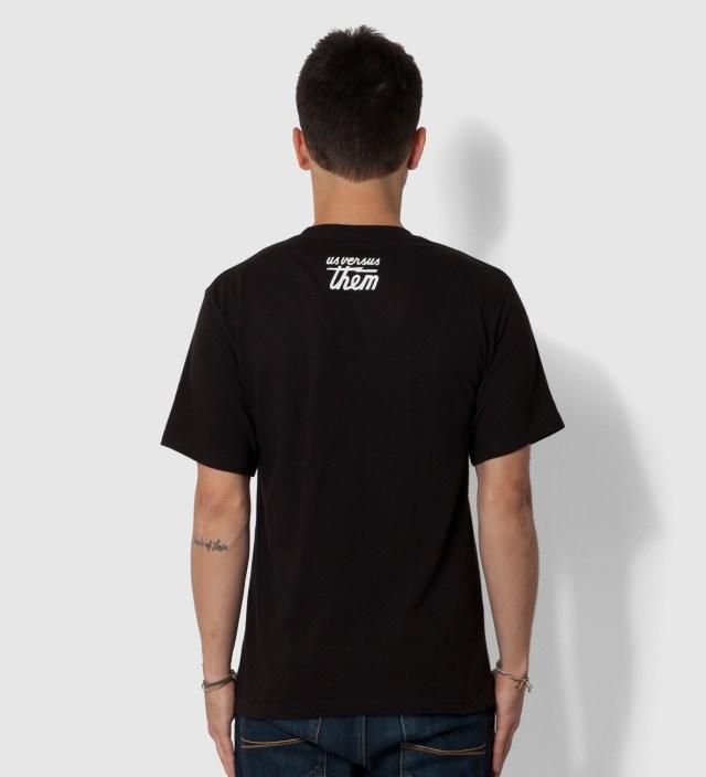 Us Versus Them Black Goes Around T-Shirt