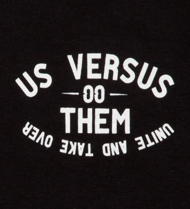 Us Versus Them Black Riot Squad 3 T-Shirt