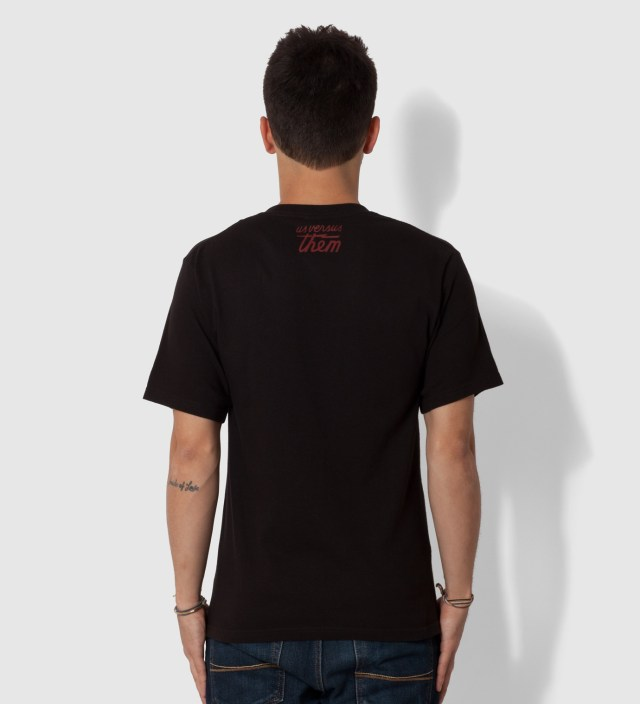 Us Versus Them Black Karma Police T-Shirt