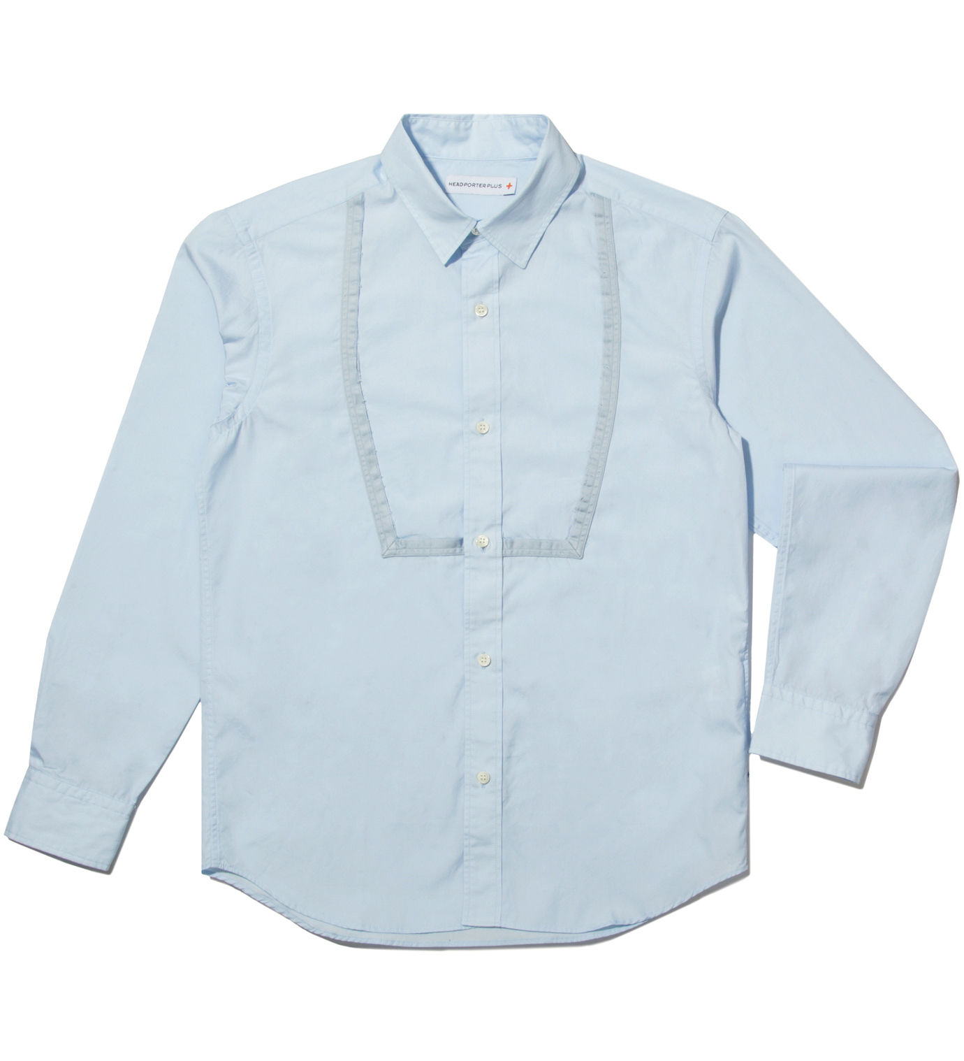 Head Porter Plus Blue Dress Shirt