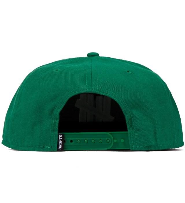 UNDEFEATED Green 5 Strike Snapback Ballcap