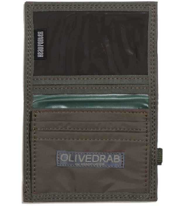 Head Porter Olive Stellar Band Card Case
