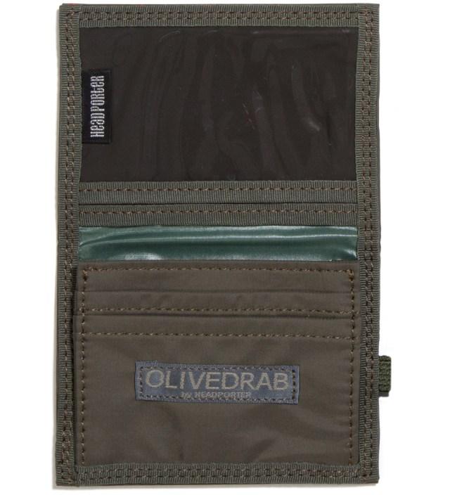 Head Porter Olive Stellar Band Card Case
