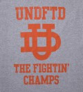 Undefeated Heather Grey SS UD T-Shirt