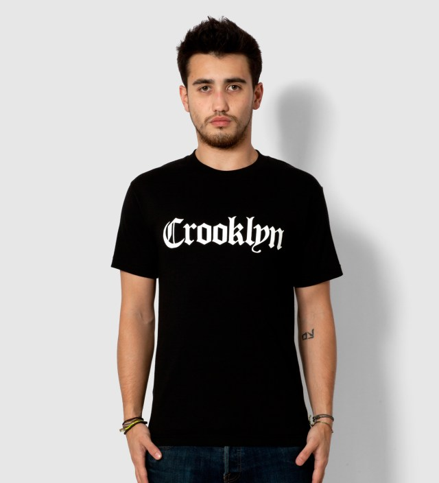 SSUR Black Crooklyn T- Shirt