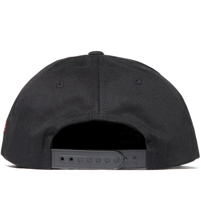 SSUR Black and Black Redrum Snapback Hat