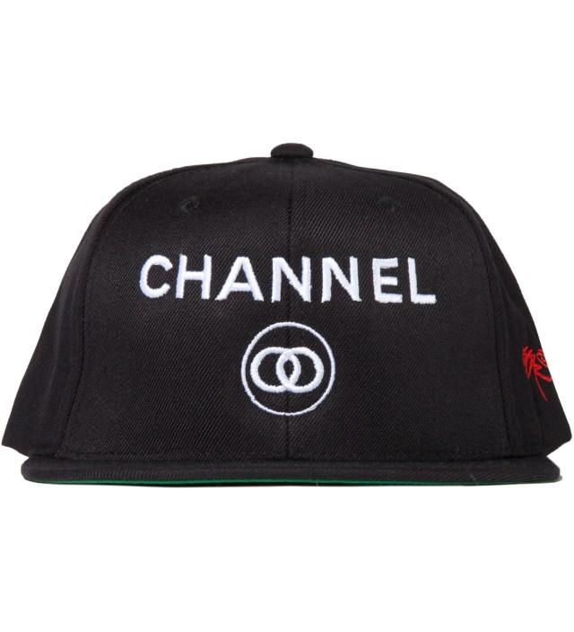 SSUR Black Channel Zero Snapback Hat