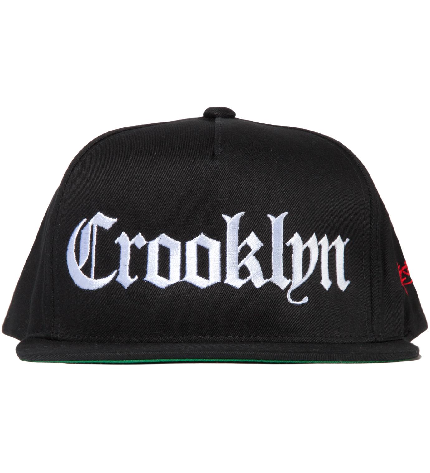 SSUR Black Crooklyn Snapback Hat