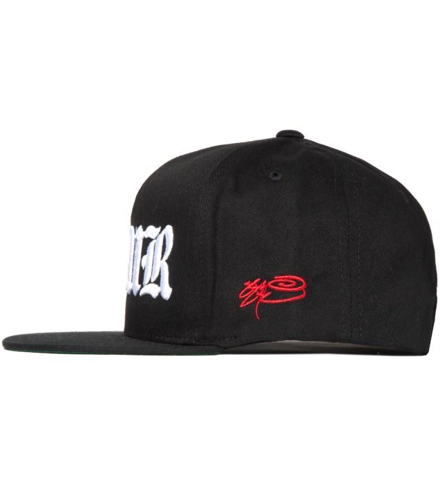 SSUR Black SSUR Old E Snapback Hat