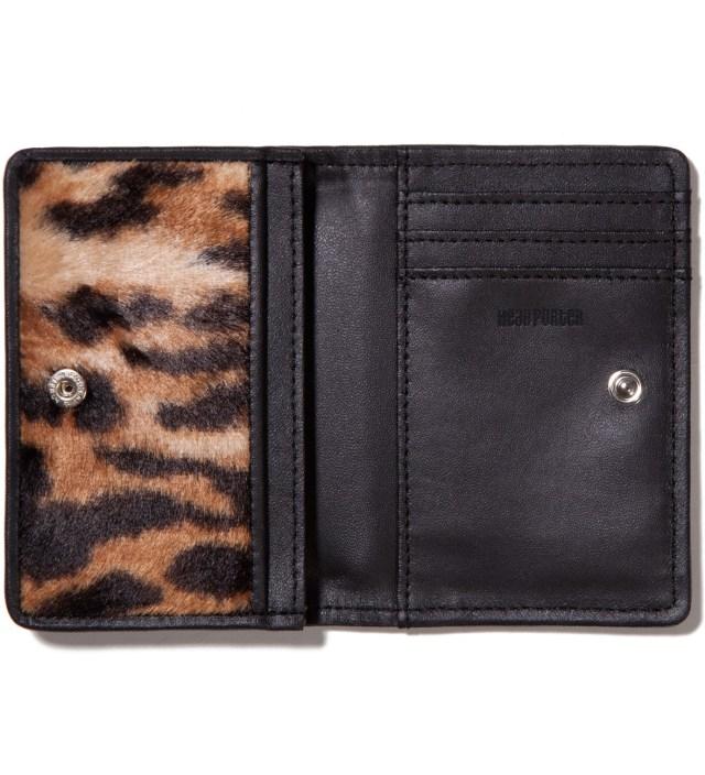 Head Porter Leopard Mombasa Canvas Card Case
