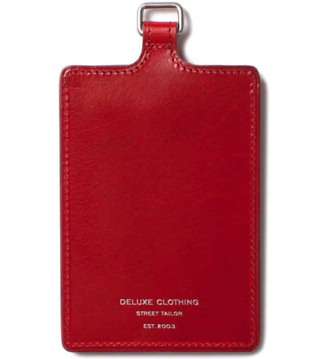 DELUXE Red Badge Card Case