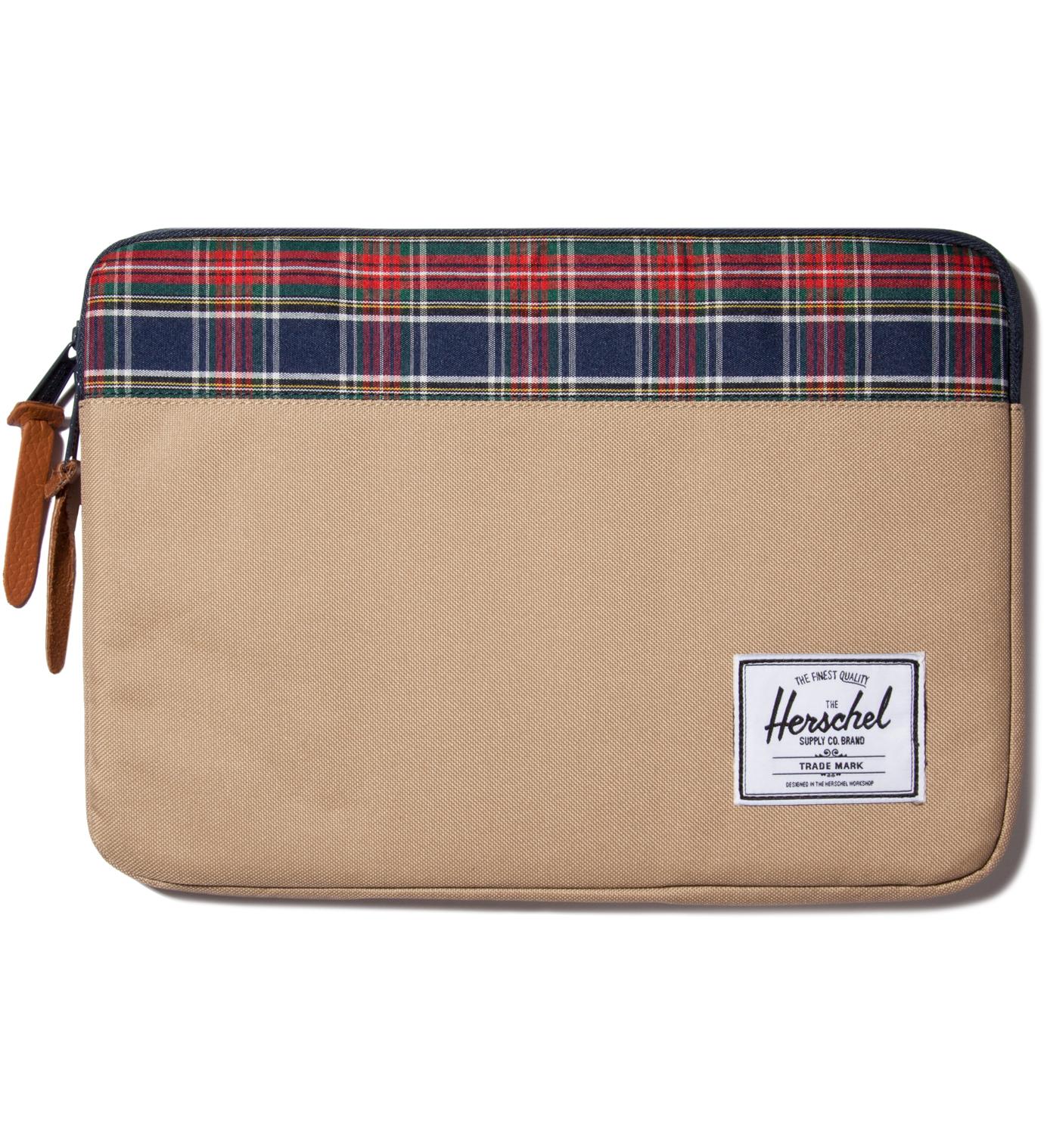 "Herschel Supply Co. Khaki Anchor 13"" Macbook Sleeve"